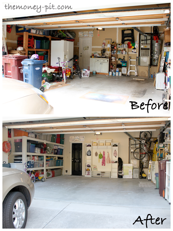 garage mudroom ideas photo - 2