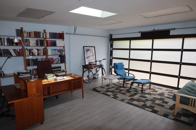 garage office conversion photo - 2
