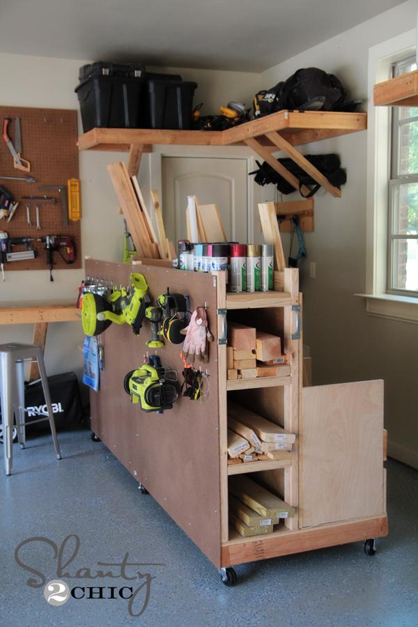 garage organization plans photo - 2