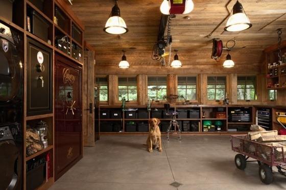 garage organization shelves photo - 1