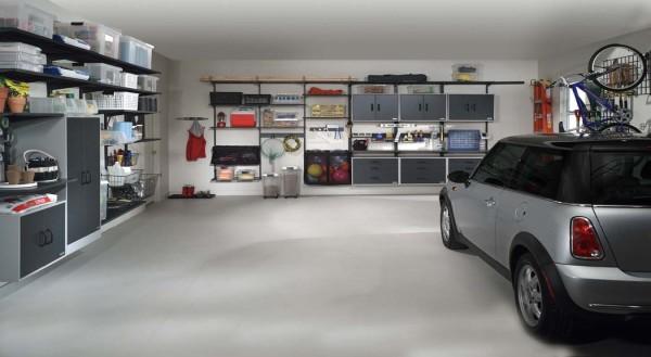 garage organization shelves photo - 2