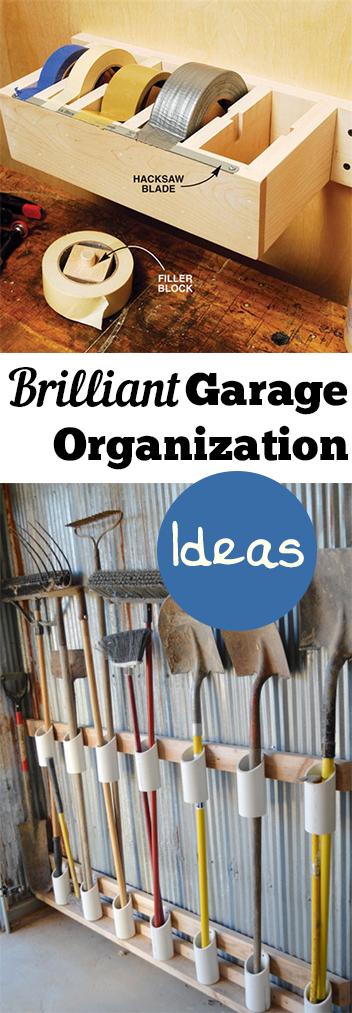 garage organization tips and tricks photo - 1