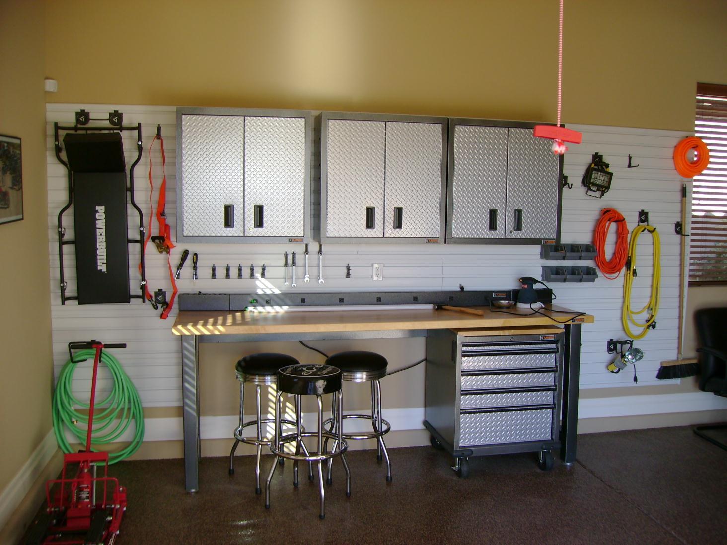 garage organizing photo - 2