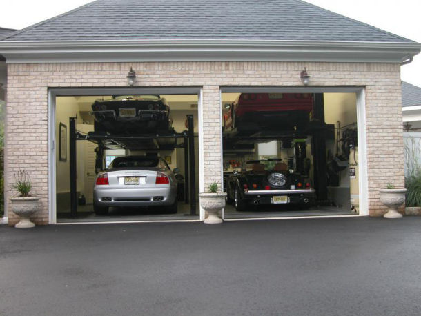 Garage photos large and beautiful photos photo to for How large is a 2 car garage