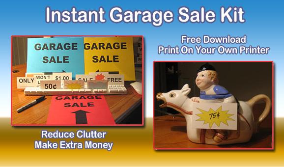 garage sale success photo - 2