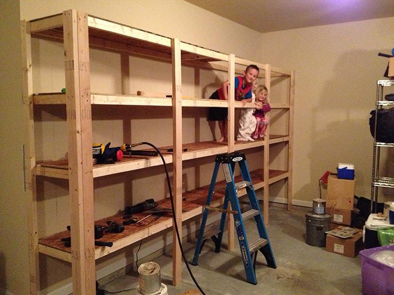 garage shelves ideas photo - 2