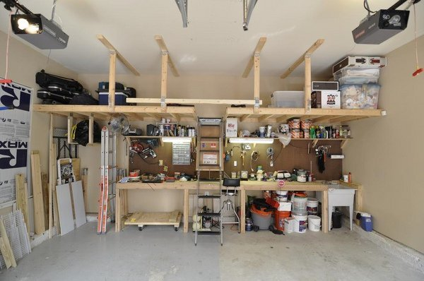 Garage Shoe Storage Ideas