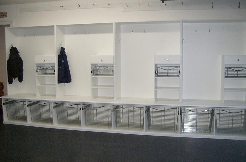 Garage Sports Equipment Storage