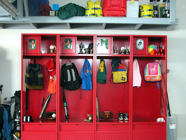 garage sports organizer photo - 2
