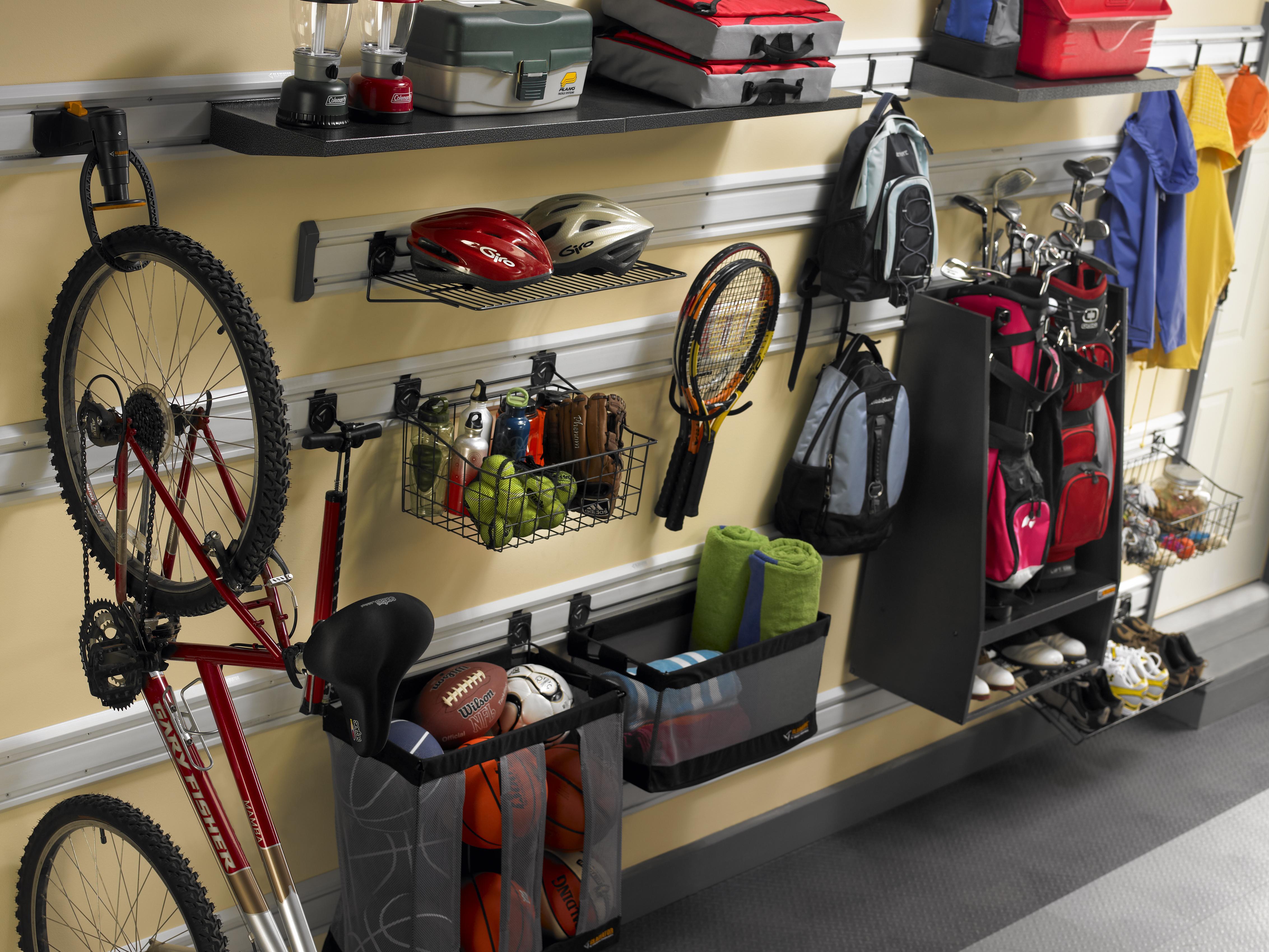 garage sports storage photo - 1