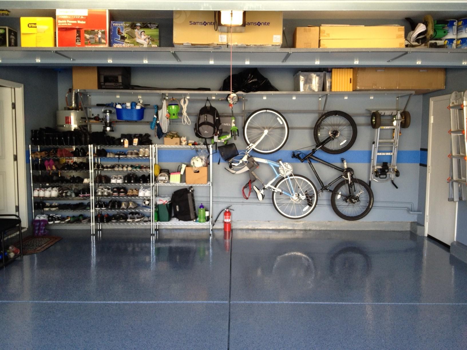 garage storage and organization photo - 2