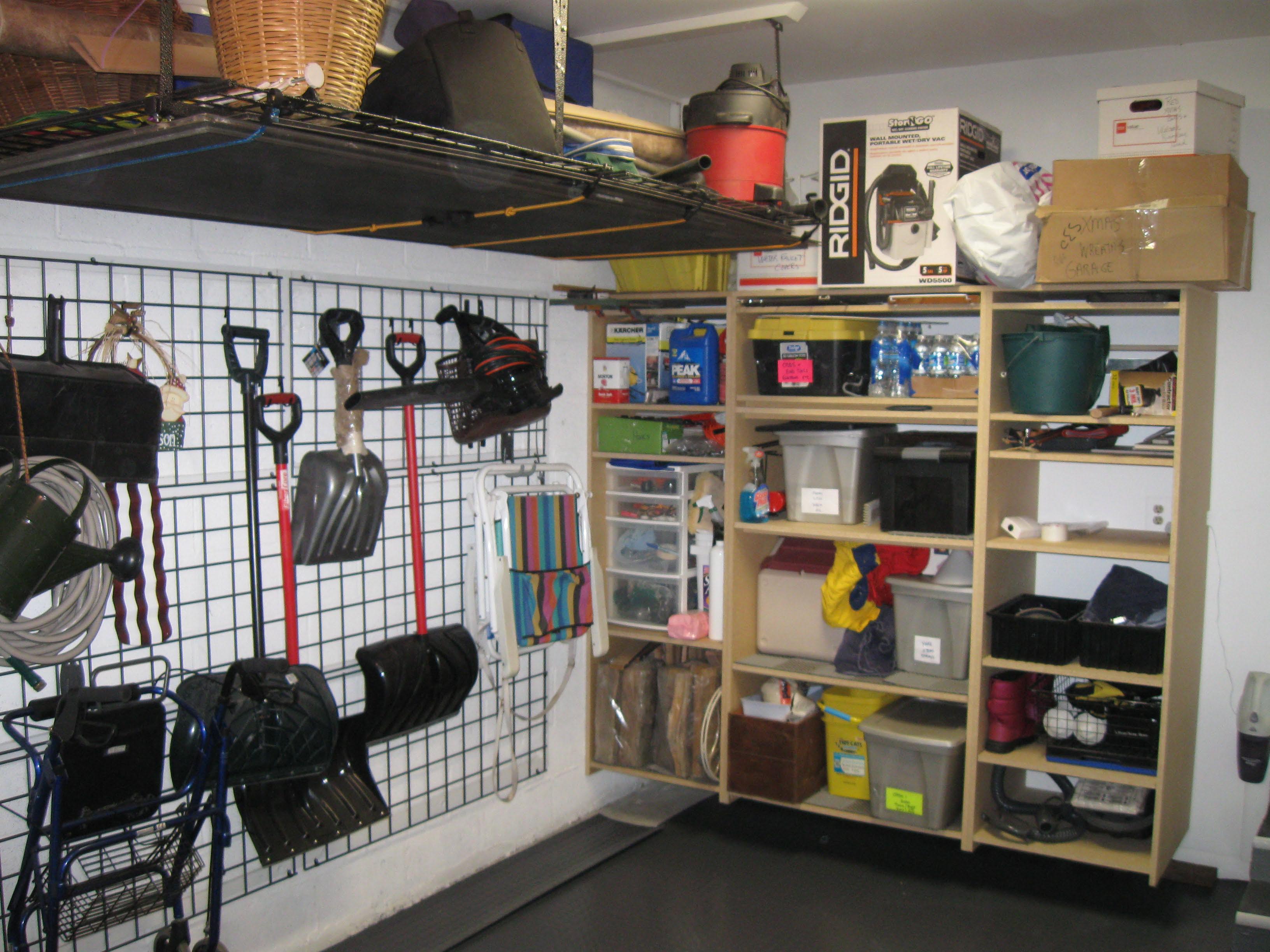 garage storage design photo - 2