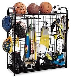 garage storage for sports equipment photo - 2