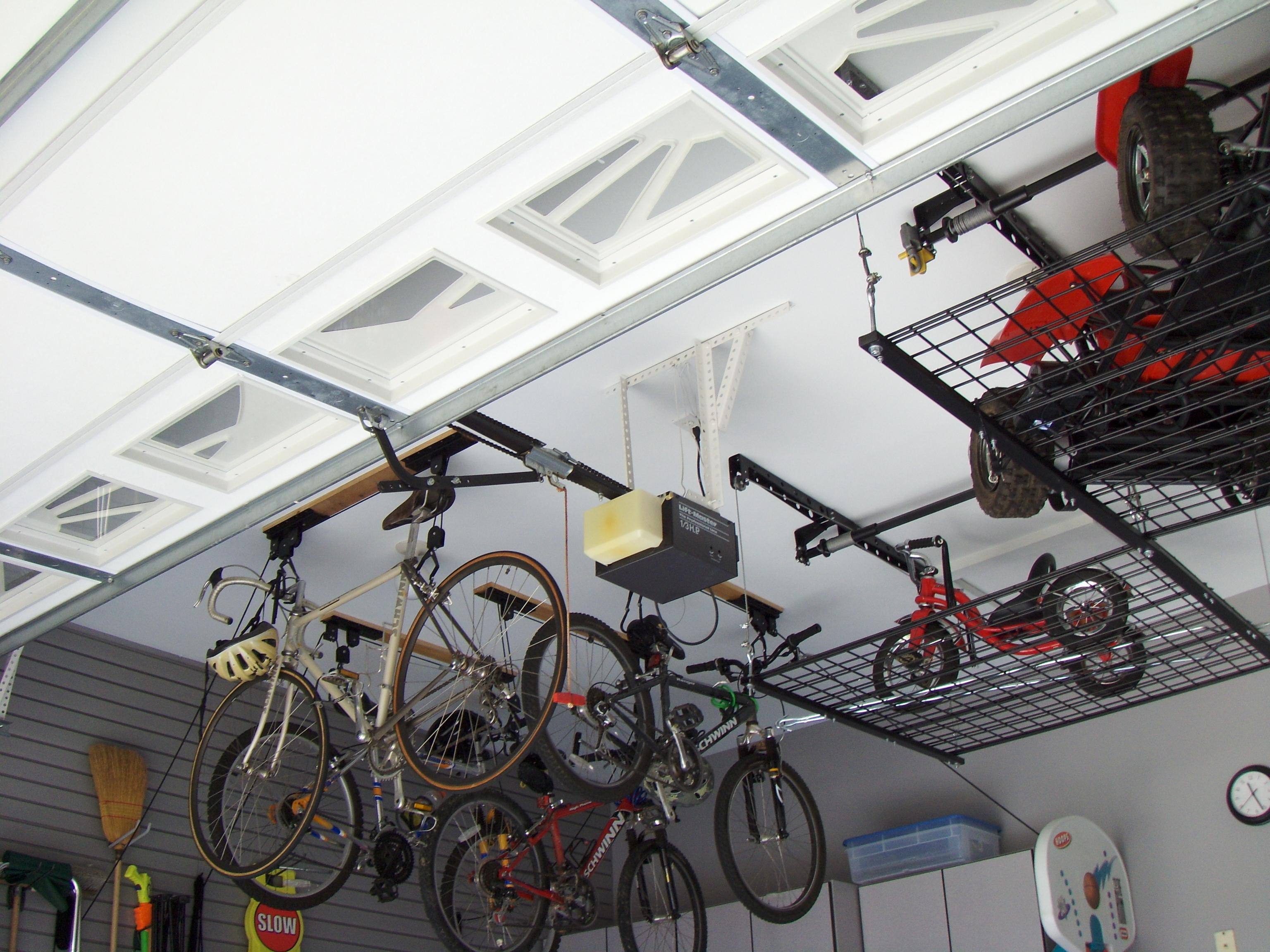 garage storage hooks photo - 2