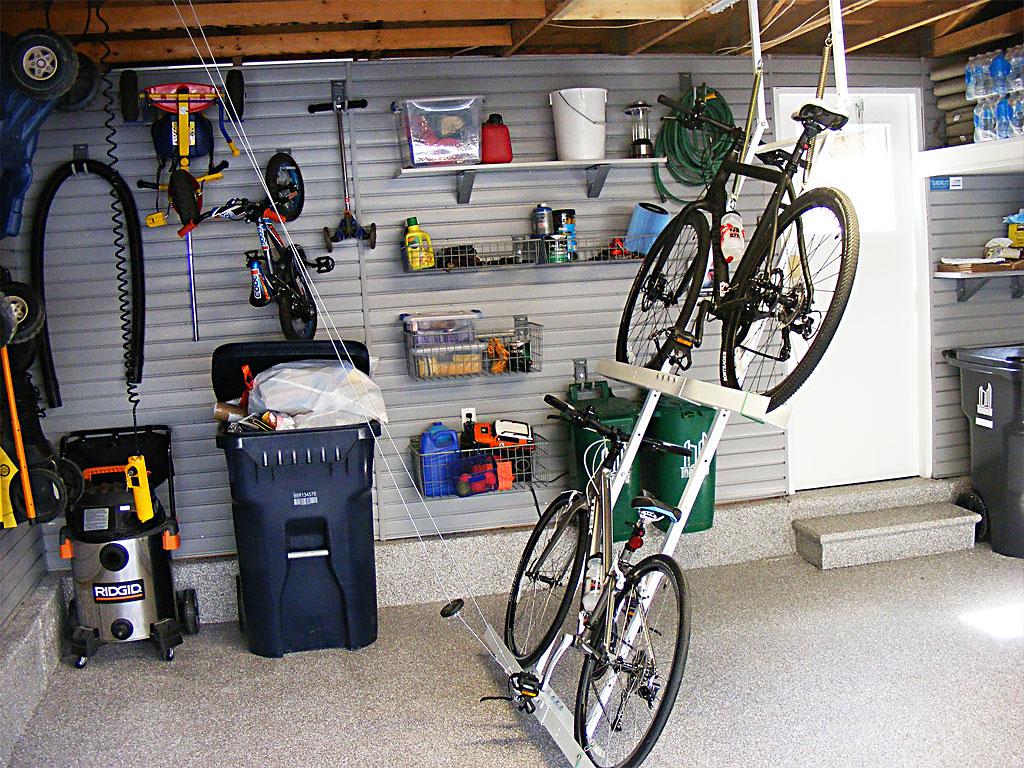 garage storage idea photo - 2