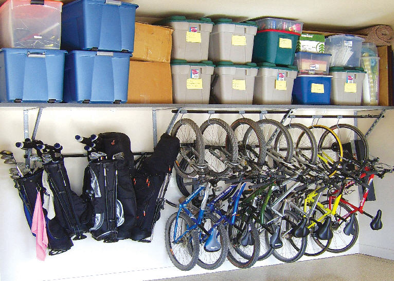 garage storage organization photo - 2