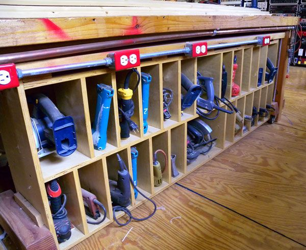 garage tool organization photo - 2