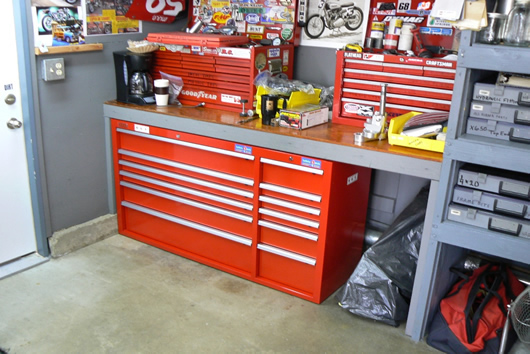 garage workshop organization ideas photo - 1