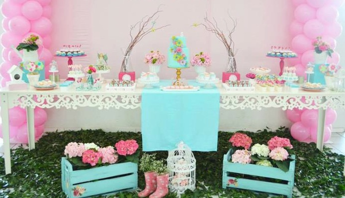 Garden Party Baby Shower Ideas Large And Beautiful Photos Photo