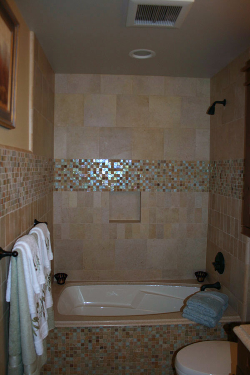 Garden tub and shower combo - large and beautiful photos. Photo to ...