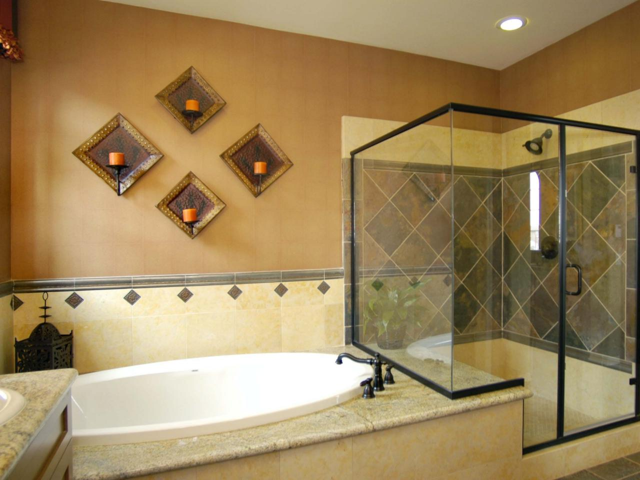 Garden tub shower combo - large and beautiful photos. Photo to ...