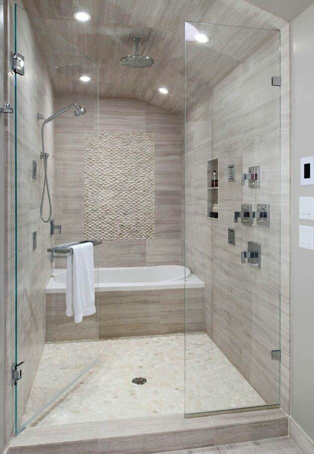 Garden tub with shower - large and beautiful photos. Photo to select ...