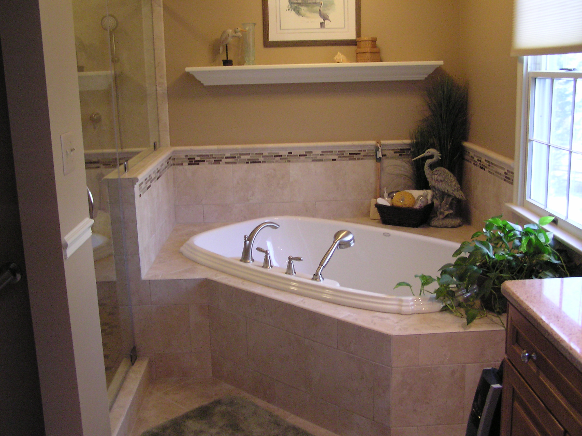 Garden tubs with shower - large and beautiful photos. Photo to ...