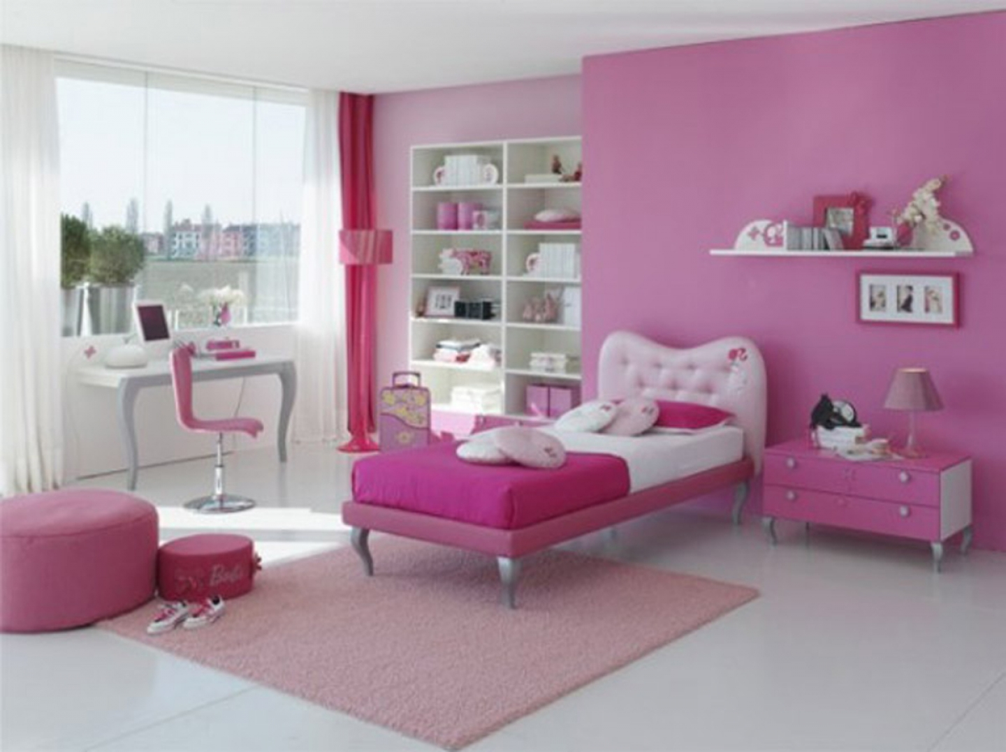 girl bedroom ideas painting photo - 2