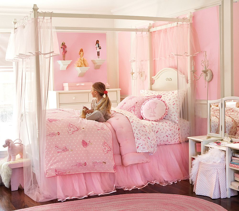 Wall paint colors for girls bedroom - Girl Bedroom Paint Colors Photo 2