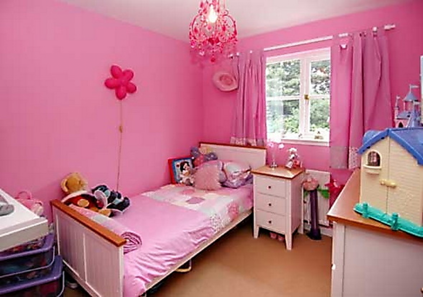 girls bedroom color ideas photo - 2