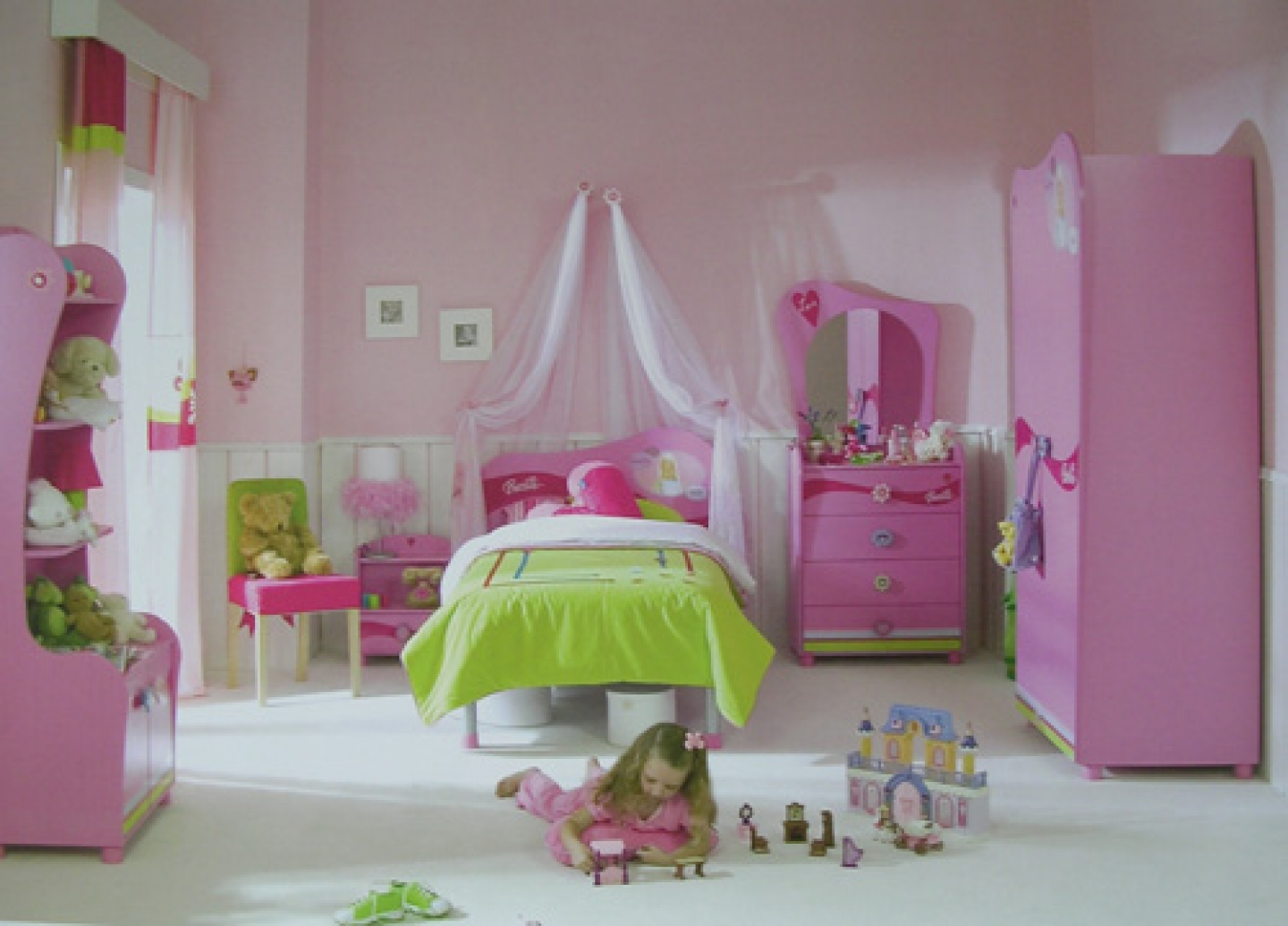 girls bedroom decorating ideas photo - 2