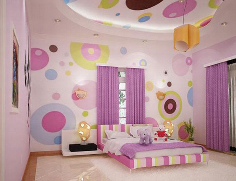 girls bedroom decoration photo - 2