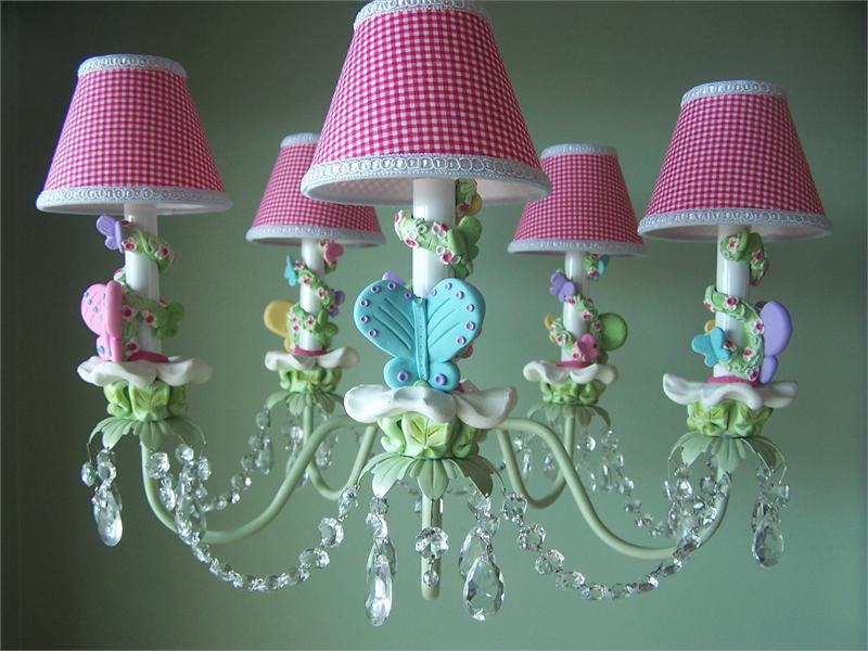 girls bedroom lighting photo - 1