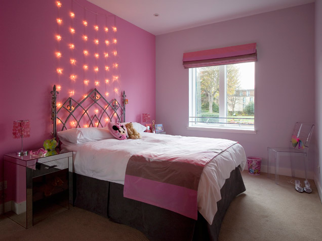 girls bedroom lights photo - 2