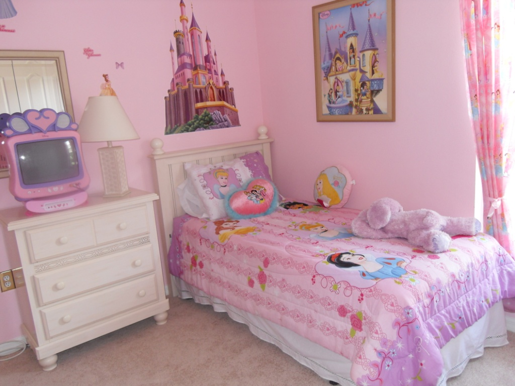 girls bedroom paint photo - 1