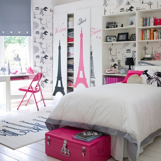 girls bedroom theme photo - 1