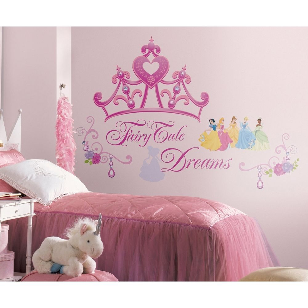 girls bedroom wall decor photo - 1