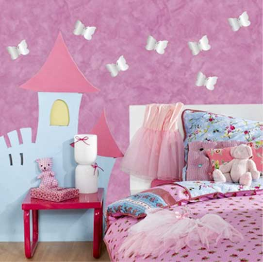 girls bedroom wall decor photo - 2