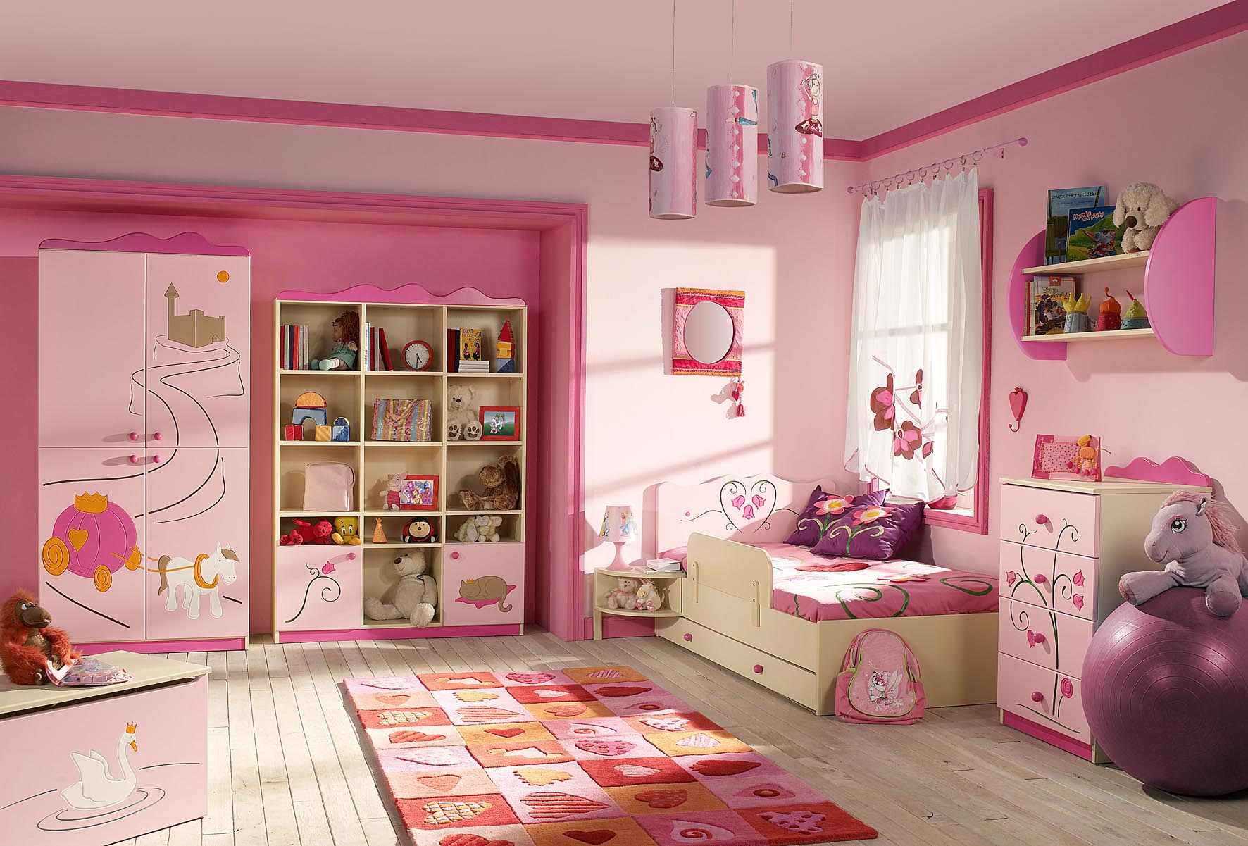 girls kids bedrooms photo - 1