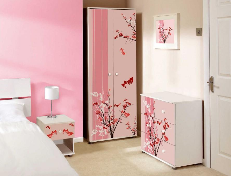 Girls Pink Bedroom Ideas Photo   2 Part 83