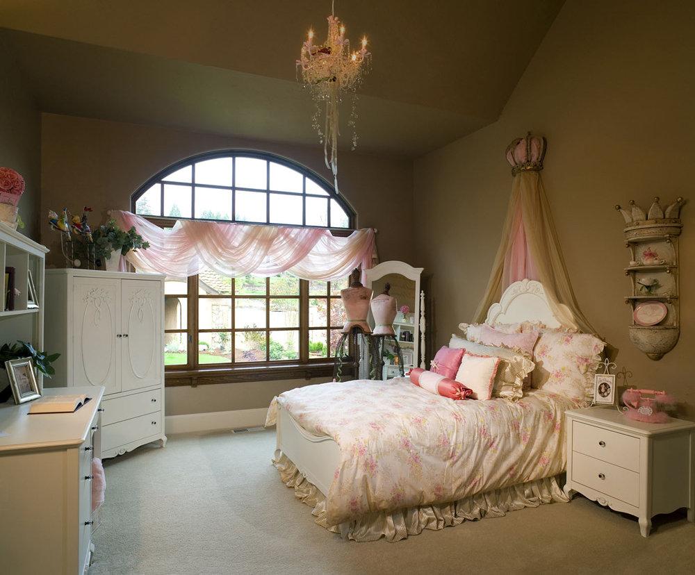 girls princess bedroom photo - 1