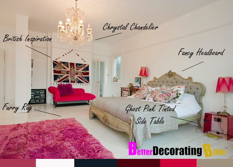 Girly bedroom decor - large and beautiful photos. Photo to select ...