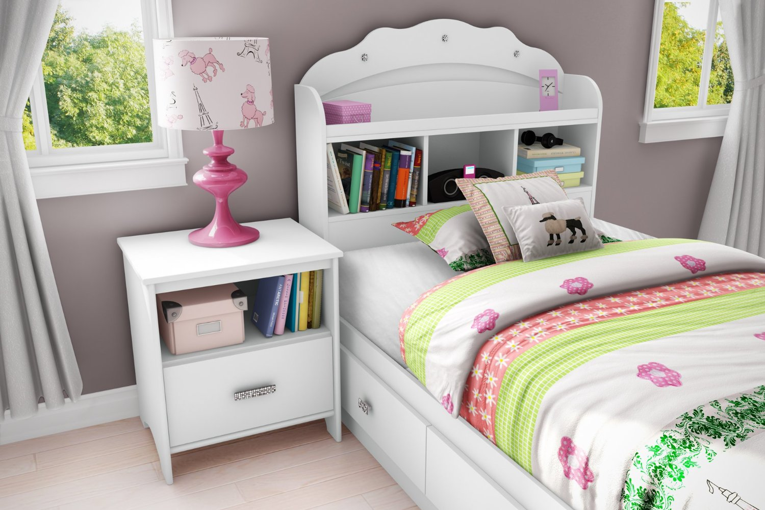 girly bedroom furniture photo - 2