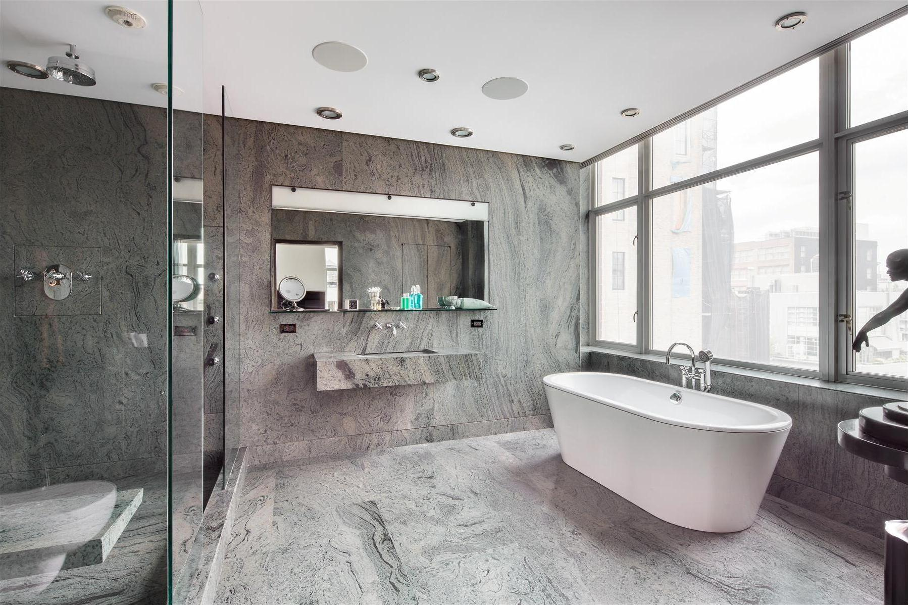 Gray And White Bathroom   Large And Beautiful Photos. Photo To Select Gray  And White Bathroom | Design Your Home