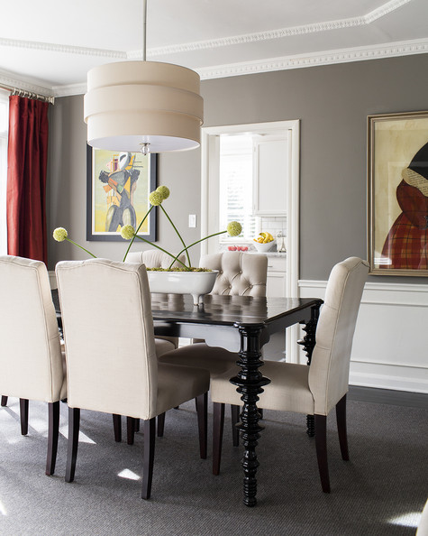 Gray Dining Room Ideas