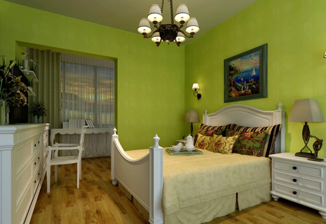 green walls bedroom - large and beautiful photos. photo to select