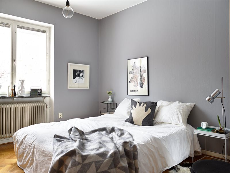 Grey bedroom walls - large and beautiful photos. Photo to select ...