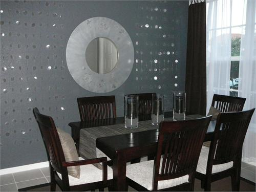 Grey Dining Room Ideas Photo   2