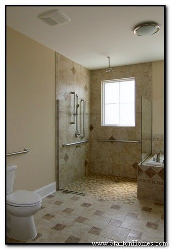 Handicap accessible bathroom design - large and beautiful photos ...
