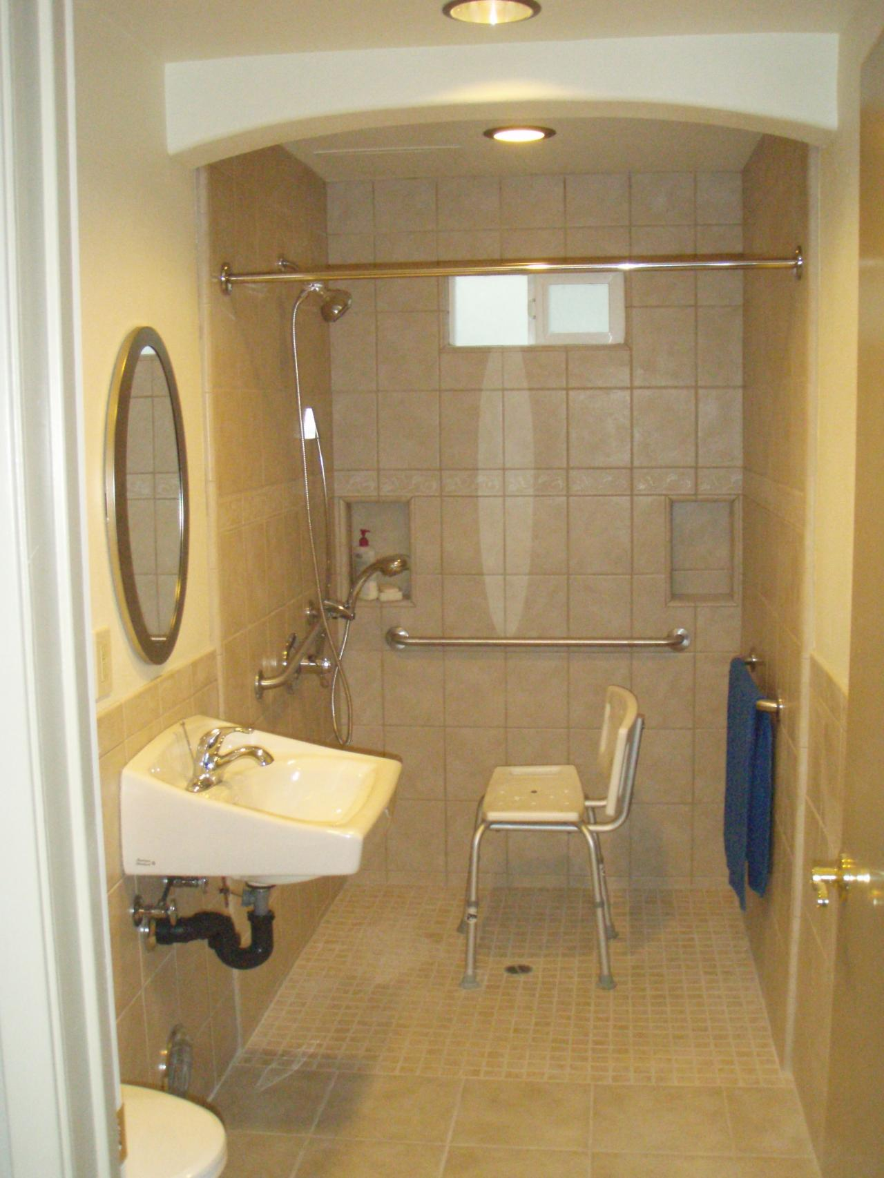 Handicapped bathroom - large and beautiful photos. Photo to select on kitchen for disabled, bedroom designs for disabled, furniture for disabled, bathroom for disabled,